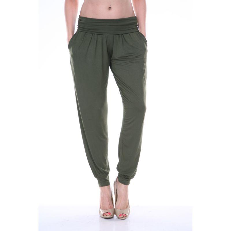 Women's Harem Pants by Whitemark-Olive-XL-Daily Steals