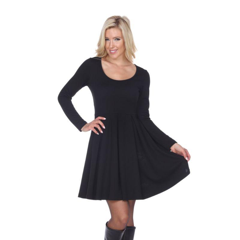 Women's Jenara' Dress by Whitemark-Black-X-Large-Daily Steals