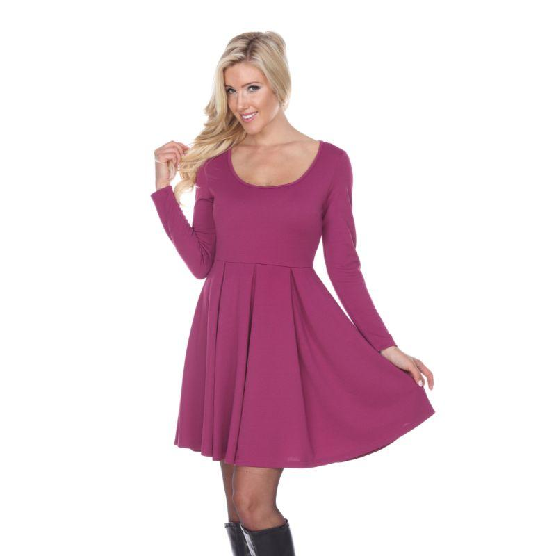 Women's Jenara' Dress by Whitemark-Purple-Small-Daily Steals