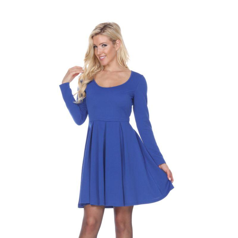 Women's Jenara' Dress by Whitemark-Royal-Medium-Daily Steals
