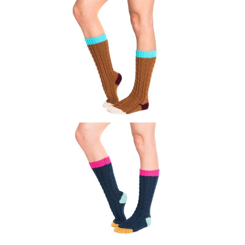Women's Knee High Socks by Muk Luks-Daily Steals