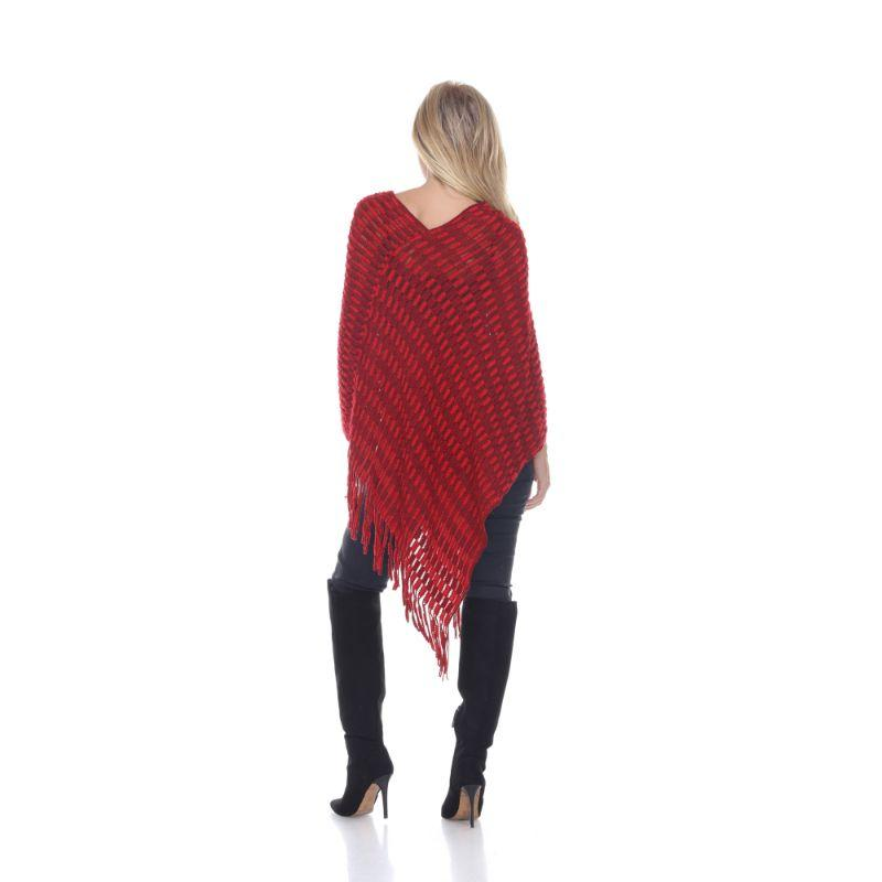 Women's Nixie Poncho By White Mark-Daily Steals