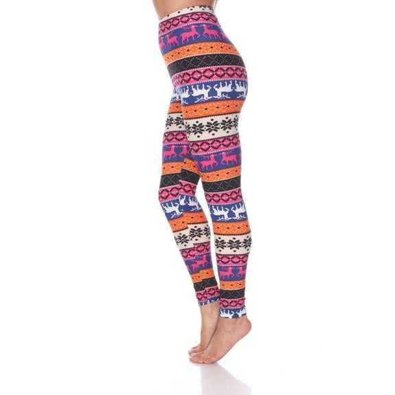 Women's One Size Fits Most Printed Leggings by Whitemark-Daily Steals