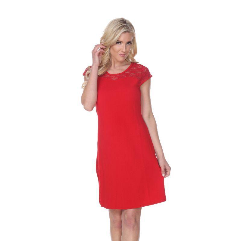 Women's Pelagia' Dress by Whitemark-Red-L-Daily Steals