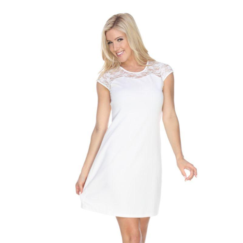 Women's Pelagia' Dress by Whitemark-White-M-Daily Steals