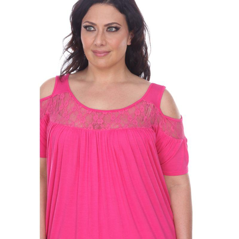 Women's Plus Bexley Tunic Top by Whitemark-Daily Steals