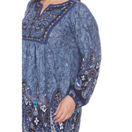 Robe-pull brodée Apolline grande taille pour femme par Whitemark-Daily Steals