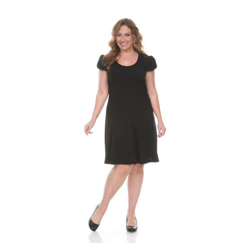 Robe Cara grande taille pour femmes de Whitemark-Black-1X-Daily Steals