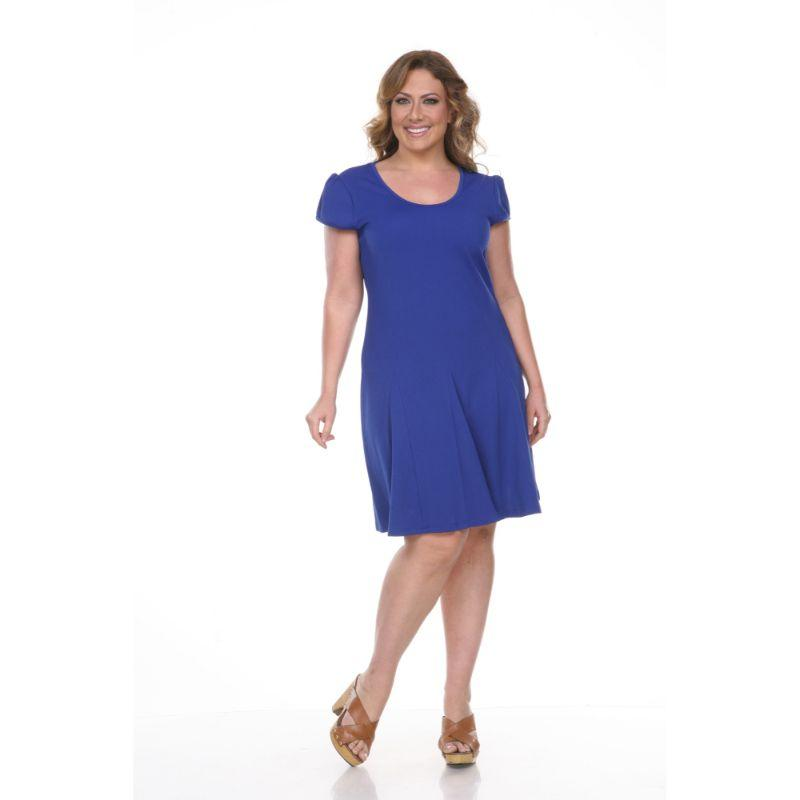 Women's Plus Size Cara Dress by Whitemark-Royal-2X-Daily Steals