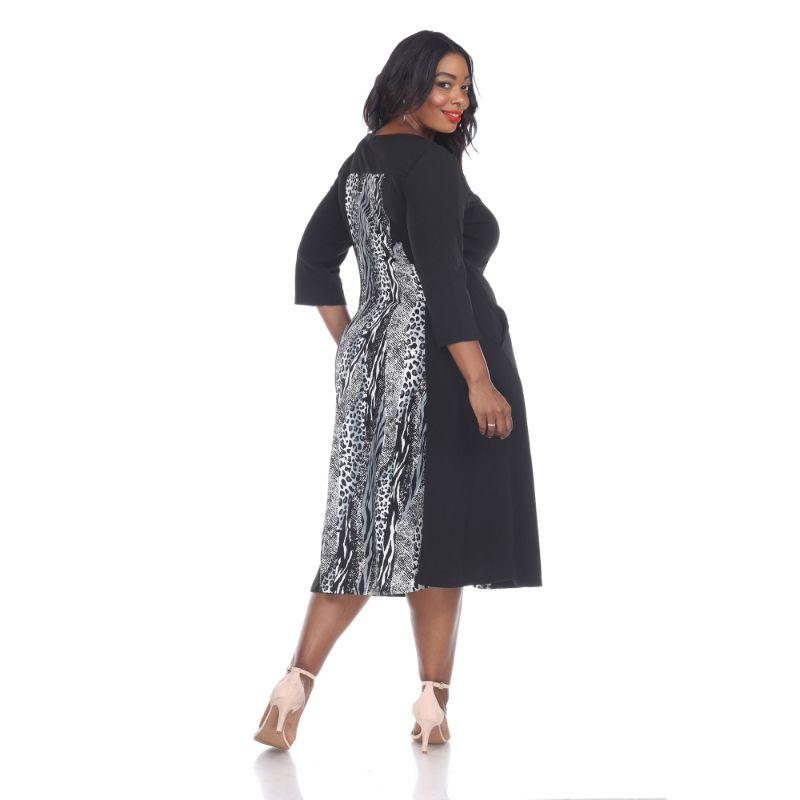 Women's Plus Size 'Constance' Midi Dress by Whitemark-Daily Steals