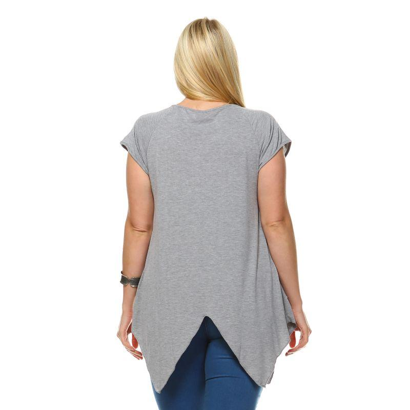 Women's Plus Size Fenella Tunic Top by Whitemark-Daily Steals