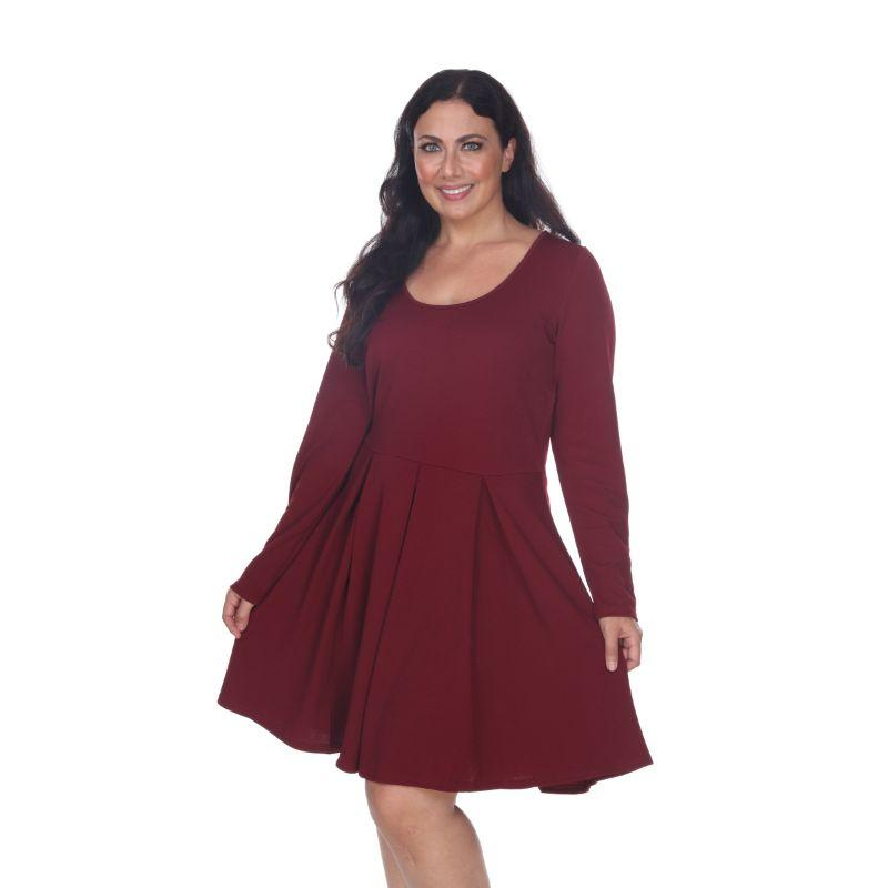 Women's Plus Size Jenara Dress by Whitemark-Daily Steals