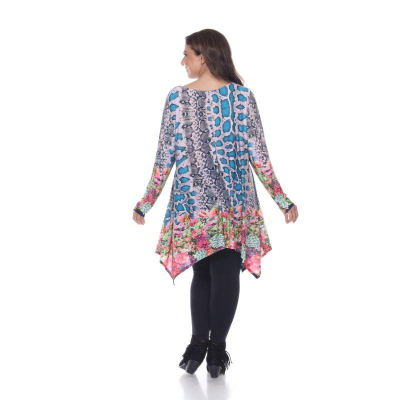 Women's Plus Size Marlene Top Tunic By Whhitemark-Daily Steals