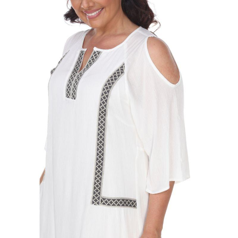 Women's Plus Size Marybeth Embroidered Dress by Whitemark-Daily Steals