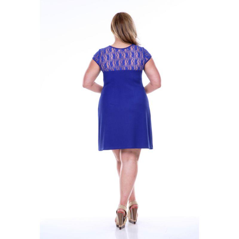 Women's Plus Size 'Pelagia' Dress by Whitemark-Daily Steals
