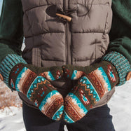 Women's Potholder Mittens by Muk Luks-Daily Steals