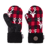 Women's Potholder Mittens by Muk Luks-Red-Daily Steals