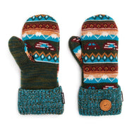 Women's Potholder Mittens by Muk Luks-Teal-Daily Steals