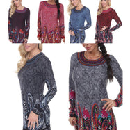 Women's Sandrine Embroidered Sweater Dress by Whitemark-Daily Steals