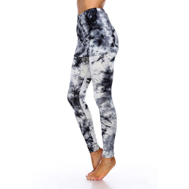Women's Tie Dye Skirted Leggings by Whitemark-Daily Steals