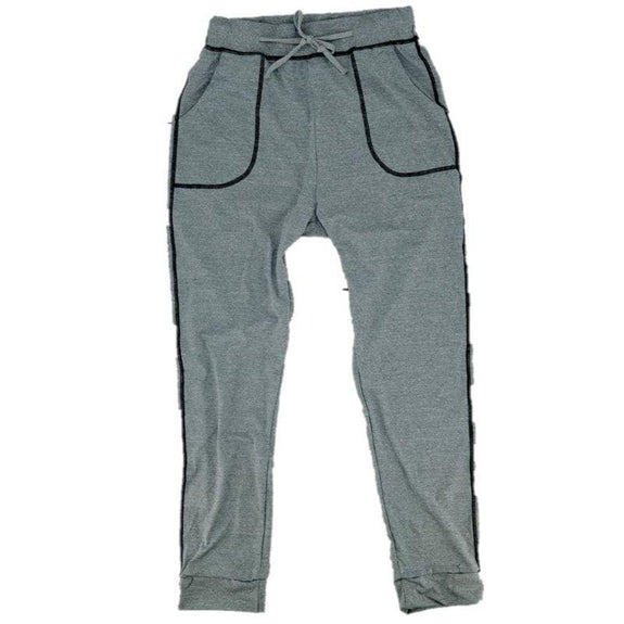 Womens Tie Dye Sweatpants-Gray-2XL-