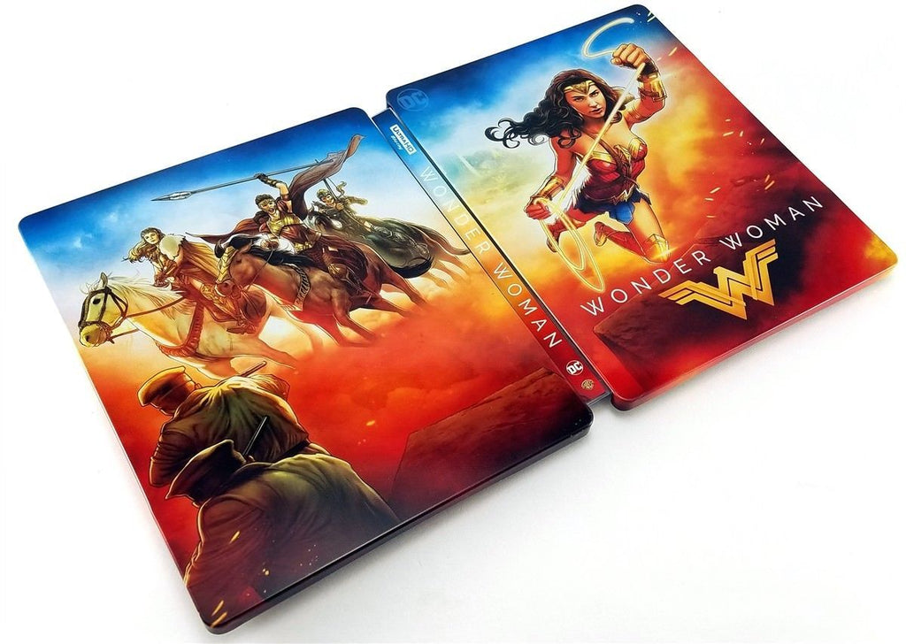 Wonder Woman 2017 Limited Edition Steelbook 4k Ultra Hd