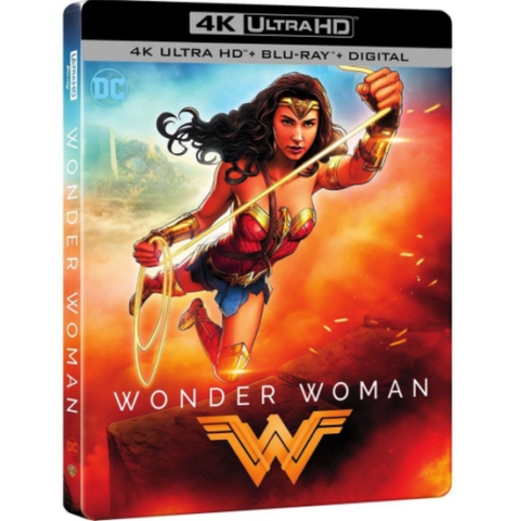 Daily Steals-Wonder Woman 2017 Limited Edition SteelBook [4K Ultra HD + Blu-ray + Digital]-Digital Products-