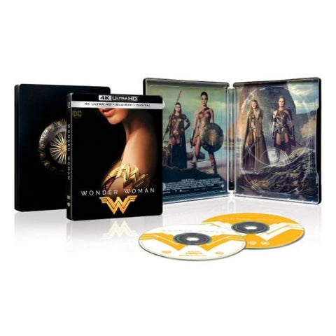 Wonder Woman Movie - SteelBook Edition - 4K Ultra HD Blu-ray/Blu-ray-Daily Steals