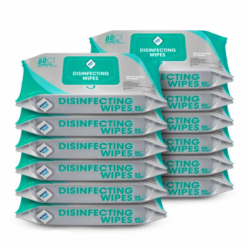 Wipesplus Industrial Strength Disinfecting And Sanitizing Wipes Made