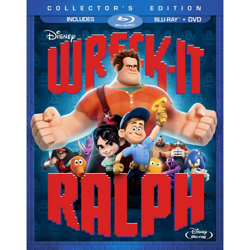 Wreck-It Ralph Movie Collector's Edition, DVD Included-Daily Steals