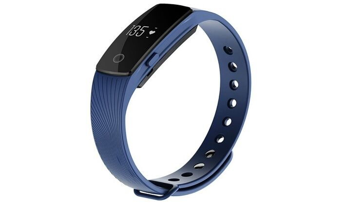 Heart Rate Smart Watch-Blue-Daily Steals