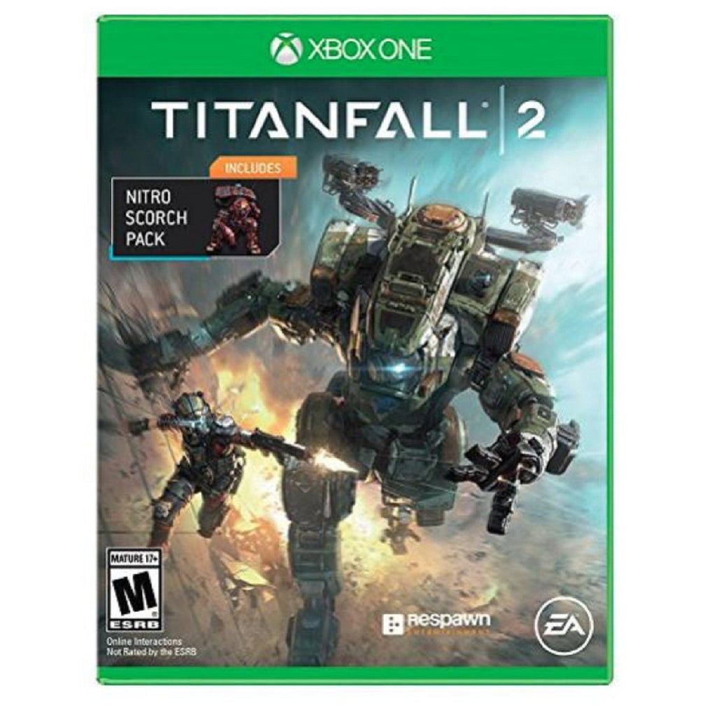 Titanfall 2 Standard Edition-Xbox One with Nitro Scorch Pack-Daily Steals