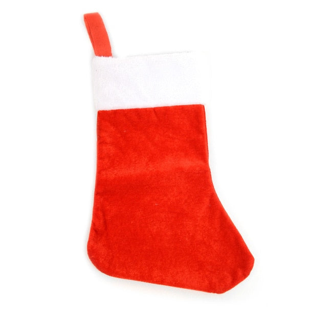 Daily Steals-[Assorted 3-Pack] Red Christmas Stockings-Accessories-