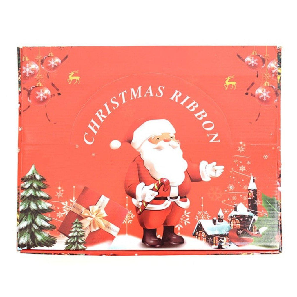 Daily Steals-[24 Piece] Christmas Wired Ribbons-Other-