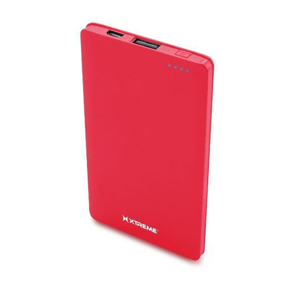 Xtreme 3,000mAh Portable Power Bank-Red-Daily Steals