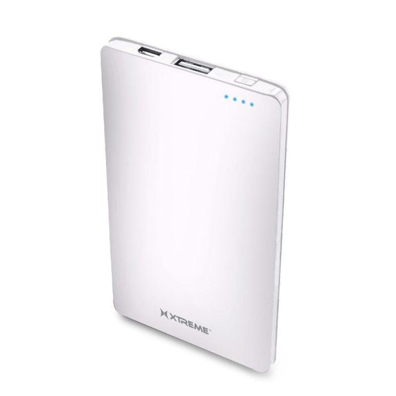 Xtreme 3,000mAh Portable Power Bank-White-Daily Steals