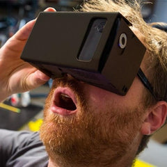 Virtual Reality Cardboard Glasses - for Google, iPhone and Android Devices