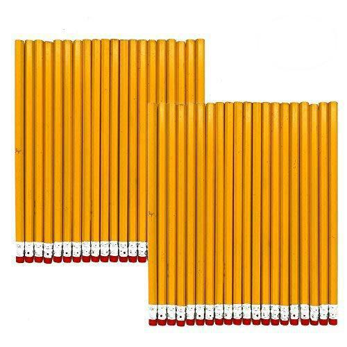 Daily Steals-Yellow Wood Cased #2 Pencils - 48 Pack-Home and Office Essentials-