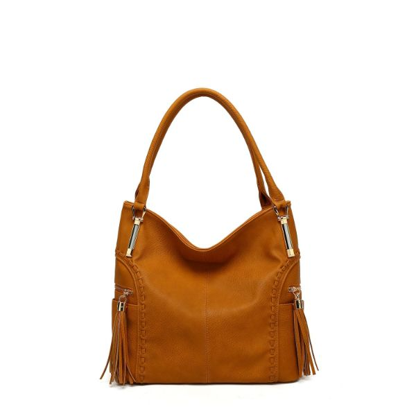 MKF Collection Betsy Shoulder Bag by Mia K. Farrow-Mustard-Classic-Daily Steals