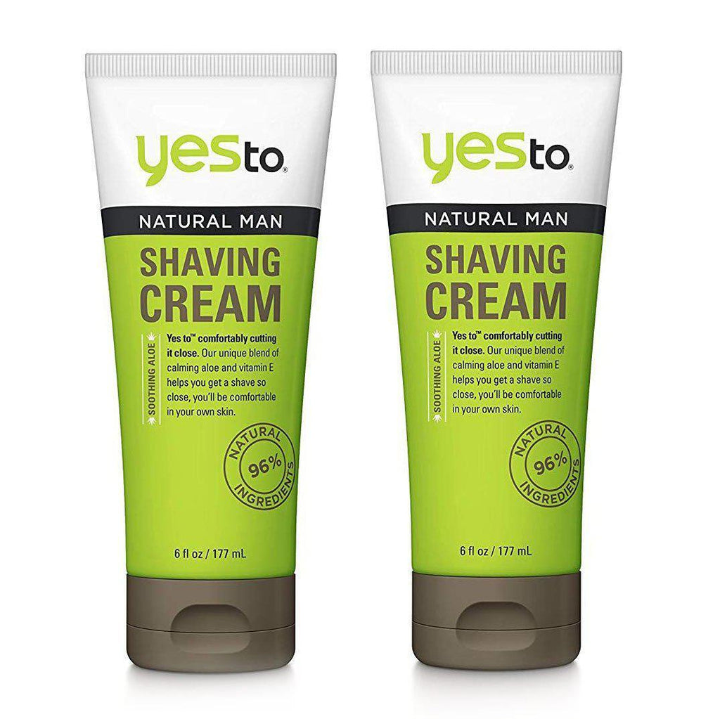 Daily Steals-Yes to Men's Shave Cream, 6 Fluid Ounce - 2 Pack-Health and Beauty-