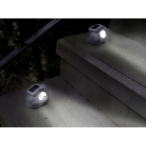 Solar Rock Landscaping Lights - 6 or 12 Pack-Daily Steals
