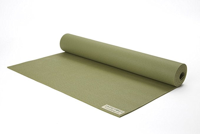 Jade Harmony Professional Yoga Mat - 68 Inches - Various Colors-Olive Green-Daily Steals
