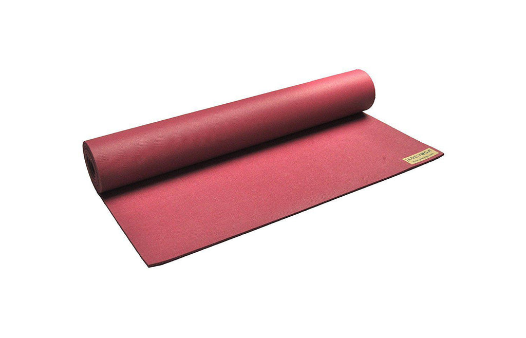 Jade Harmony Professional Yoga Mat - 68 Inches - Various Colors-Raspberry-Daily Steals