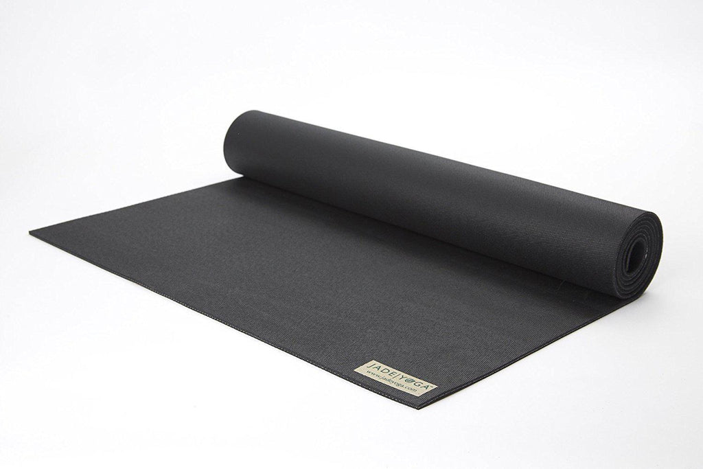Jade Harmony Professional Yoga Mat - 68 Inches - Various Colors-Black-Daily Steals