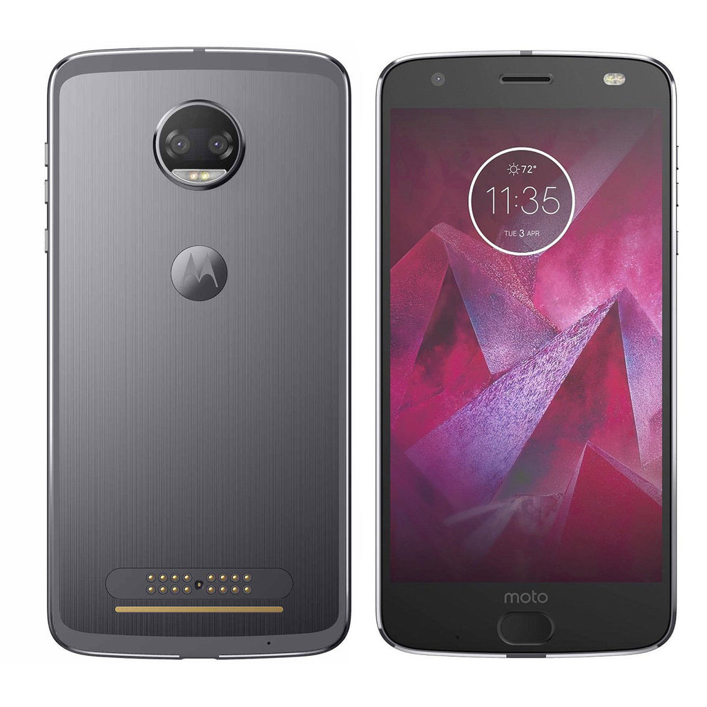 Motorola Moto Z2 Droid Force 4G LTE with 64GB Memory Cell Phone (Verizon and GSM Unlocked)-Super Black-Daily Steals
