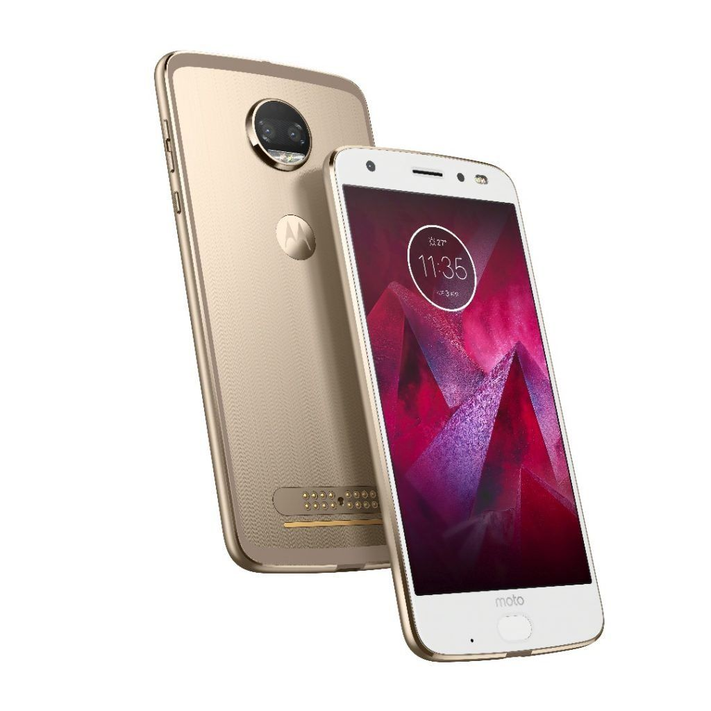 Motorola Moto Z2 Droid Force 4G LTE with 64GB Memory Cell Phone (Verizon and GSM Unlocked)-Fine Gold-Daily Steals