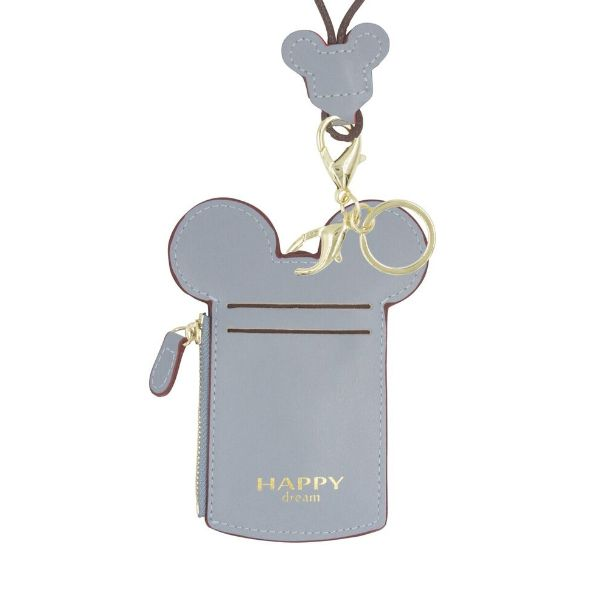 Theme Park Ticket Holder and ID Card Necklace - 6 Colors-Gray-Daily Steals