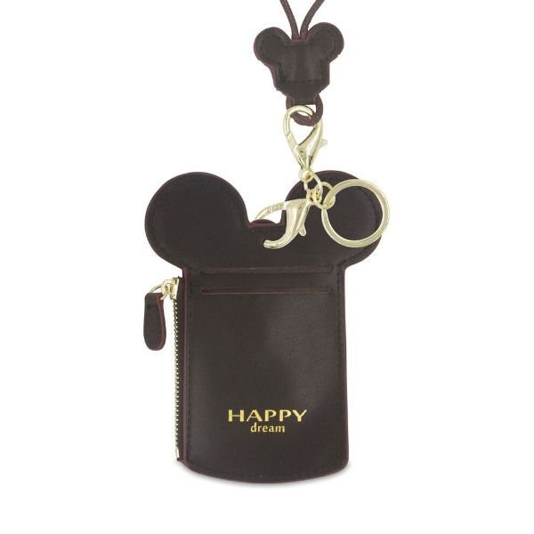 Theme Park Ticket Holder and ID Card Necklace - 6 Colors-Black-Daily Steals