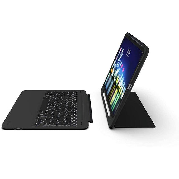 ZAGG Slimbook Go - Ultrathin Case, Hinged with Detachable Bluetooth Keyboard-