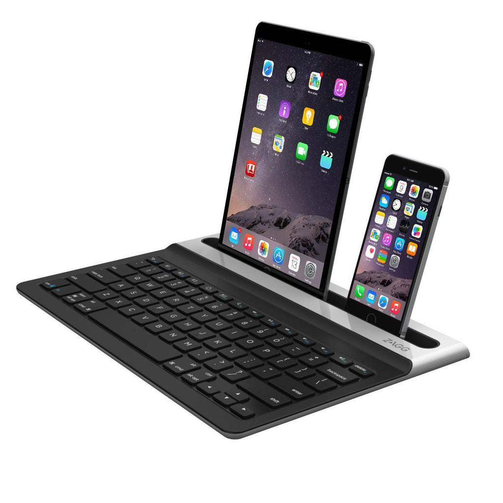 ZAGG Limitless Full-Size Multi-Device Universal Bluetooth Backlit Keyboard-Daily Steals